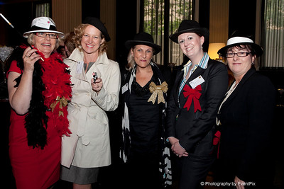 Keren Southgate (The Sebel Albert Park), Susan Ryman-Kiernan (Wise Connections), Annemaree Angelico (Microhire), Hannah von Bibra (MCEC), Melinda merson (Peter Jones Special Events)