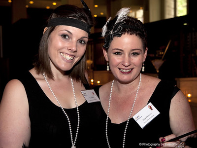 Taryn Gater and Jacqui Muir (The Conference Manager)