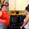 Kitchen witches at work