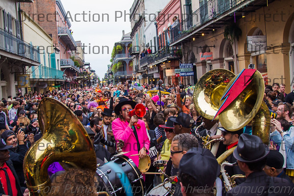 David Bowie Second Line New Orleans