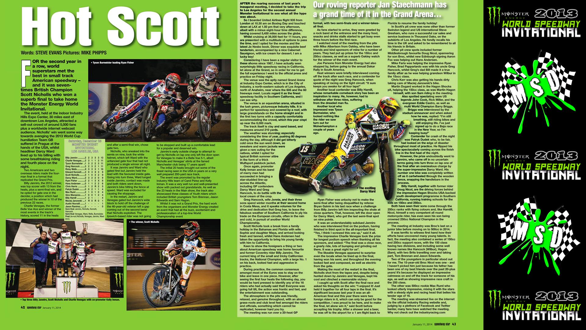 SpeedwayStarWriteUp_MSD_Evans_Article2014