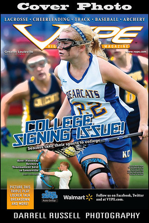 VYPE - High School Sports Magazine  -  Issue June 2010 Vol. 3 No. 6 *** COVER PHOTO *** .