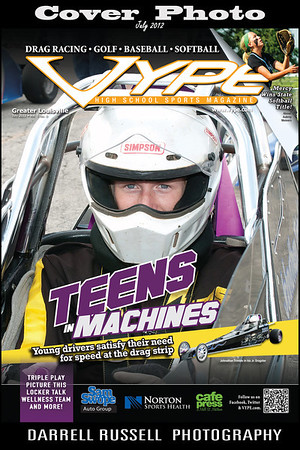 VYPE - High School Sports Magazine  -  Issue July 2012 Vol. 5 No. 5 *** COVER PHOTOS ***