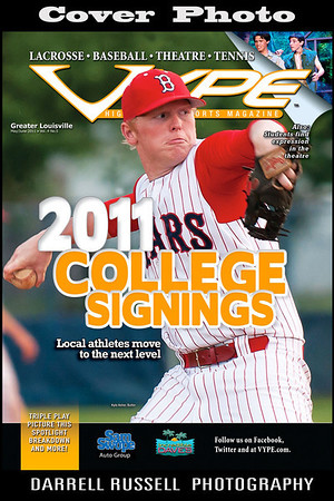 VYPE - High School Sports Magazine  -  Issue May/June 2011 Vol. 4 No. 5 *** COVER PHOTO *** .