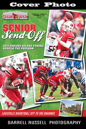 LOUISVILLE SPORTS REPORT VOL XVII - NUMBER 13 NOVEMBER 21, 2012  *** COVER PHOTO ***