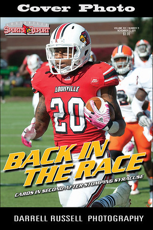 LOUISVILLE SPORTS REPORT VOL XVI - NUMBER 11 OCTOBER 2, 2011*** COVER PHOTO ***
