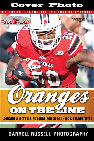 LOUISVILLE SPORTS REPORT VOL XVII - NUMBER 14 NOVEMBER 28, 2012  *** COVER PHOTO ***