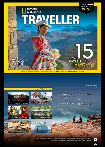 2015 National Geographic Traveller