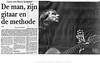 harry sacksioni foto jaap reedijk De Telegraaf 19-10-2010 pag 19