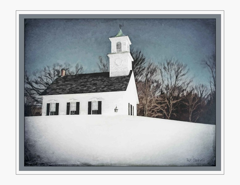 East Washington Meeting House, NH #3