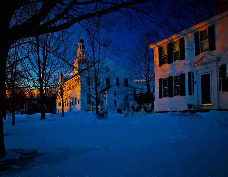 Washington, NH winter night #3