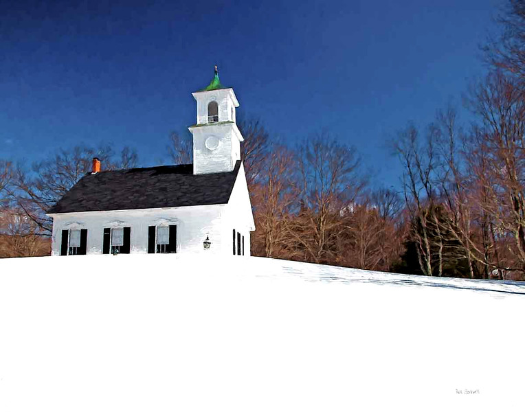 East Washington Meeting House, NH 2