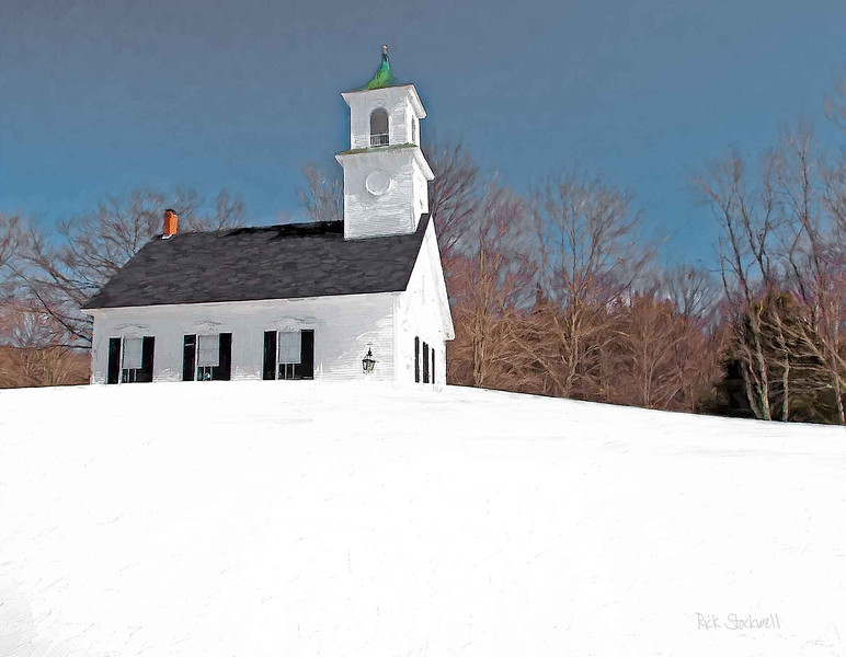 East Washington Meeting House, NH #4