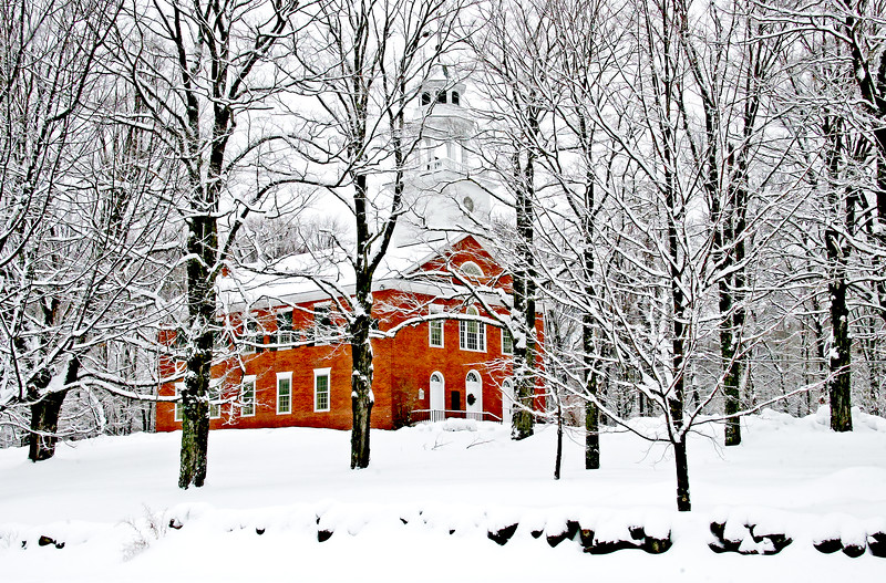 Weathersfield meeting house, VT