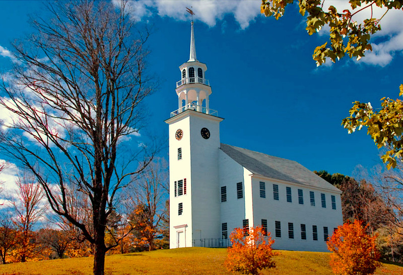 Stratford meeting house, VT
