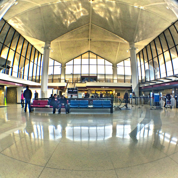 C Concourse lobby