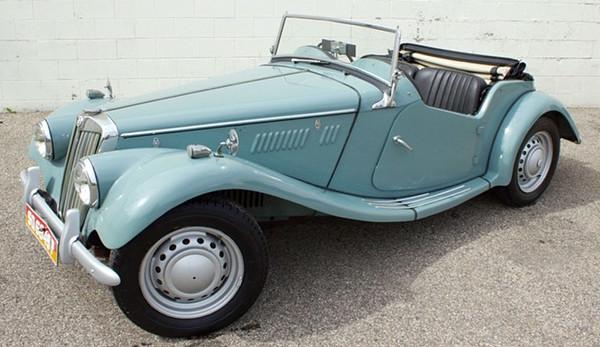 1953 - 1955 MG TF