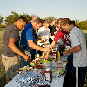 25SEP12 - MEN-istry Cookout