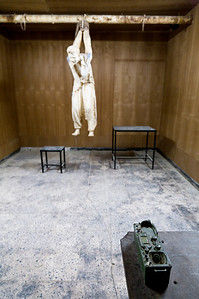 Sulaymaniyah's Red Museum displays scenes of Saddam's torture of Kurdish citizens.