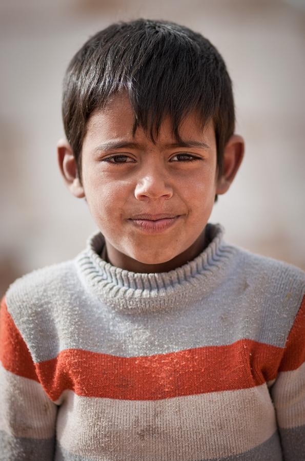 Khalid, age 7, Wadi Rum.