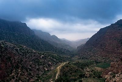 Wadi Dana, Dana Nature Reserve.