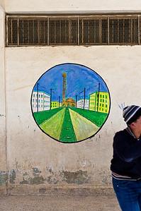 The Al-Jawaida School, outside of Amman.
