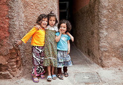 Young Moroccans, Marrakesh.