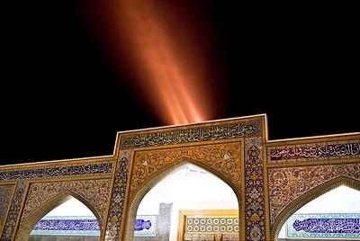 The Sayyidah Zaynab Mosque.