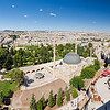 Looking out onto Urfa and it's Great Mosque from the Citadel.