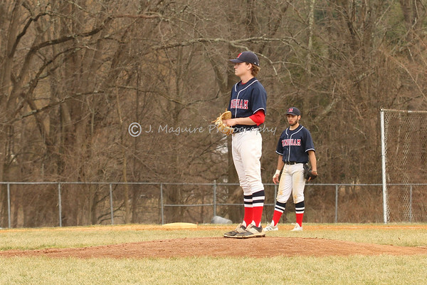 MENDHAM BASEBALL VS POPE JOHN 2017