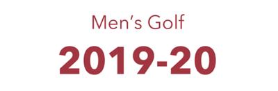 2019-20 Men's Golf