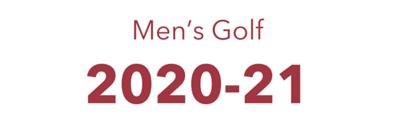 2020-21 MENS GOLF
