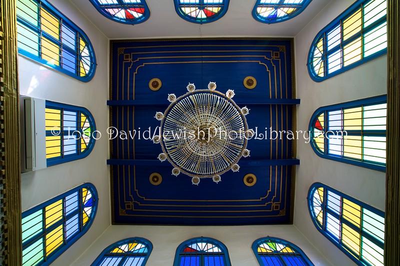 TN 1492  Synagogue Cohanim Dightya  Hara Kebira, Djerba, Tunisia