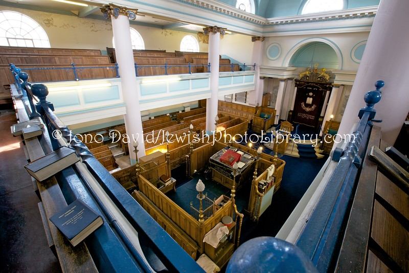 UK 1800  East London Central Synagogue (aka Nelson Street Synagogue)  London, England
