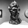 """Woman""""s Head: Picasso _ bw"""