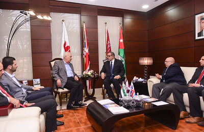 LIAS Visit to the Middle East University, Amman
