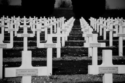 Cimetière de Douaumont ( Bataille de Verdun, 1916)