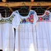 chiapas mayan white dress embroided flowers