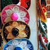 Charro Mexican mariachi colorful hats