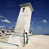 Puerto Morelos Mexico lighthouse after hurricane