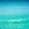 Tropical beach turquoise water texture