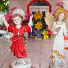 Caribbean cemetery catholic angel saints figures