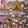 seashell mobile wind chime hanging mexico