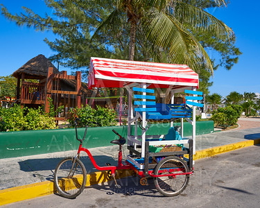 Caribbean tricycle shop bicycle Mexico