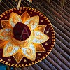 charro mariachi hat mexican icon from Mexico