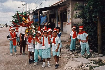 Santa Kids in Mexico