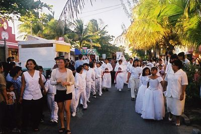 A wedding Procession in Mexico - Quintana Roo