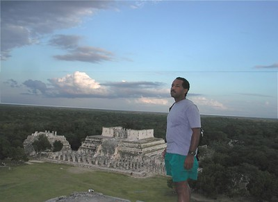 Scott at Chichenitza