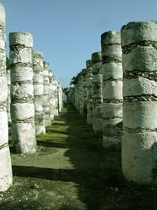 Chichenitza Columns