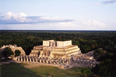"""Temples at Chichen Itza"""